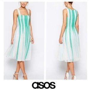 ASOS Fit and Flare Tank Dress Size 8P